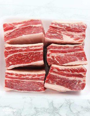Short ribs halal