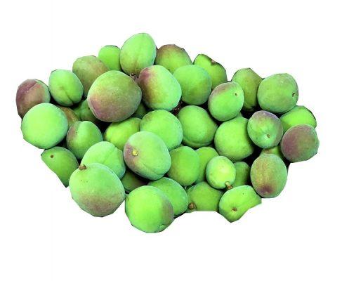Unripen apricot